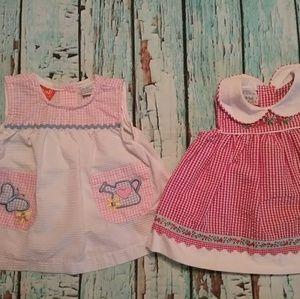 Other - ❤Infant Girl Bundle Vintage Dresses 3/6m PREOWNED